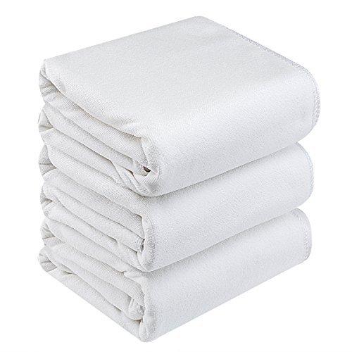 Premium Bath Towel Set:Microfiber 3 Pack Towel Sets  - Extra