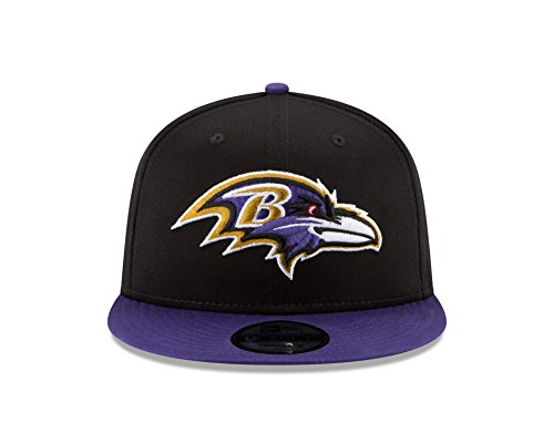 promo code 4de87 ceb41 New Era Baltimore Ravens Youth Bycik 9FIFTY Snapback Adjustable Hat  Black Purple