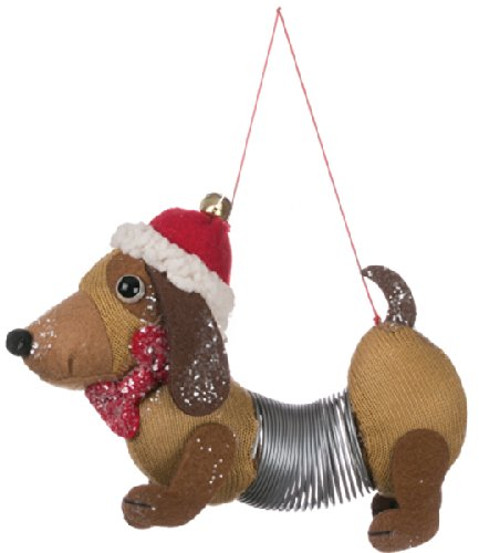 Sullivans Slinky Dog Hanging Ornament