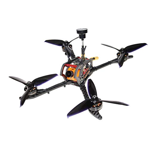 (HGLRC Mefisto 226mm FPV Racing Drone F4 Flight Controller 2207 1775KV Brushless Motor 60A Blheli 32 Bit 4 in 1 ESC 4mm Carbon Fiber Frame Kit GTX226 V2 VTX Video Transmitter Runcam Camera (Frsky Xm+))
