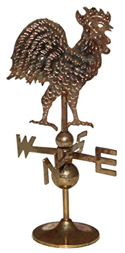 Review Golden Dollhouse Weather vane