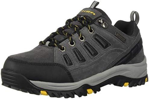 Skechers Mens RELMENT-SEMEGO Waterproof Hiker LO Hiking Shoe dkbr 11 Wide US