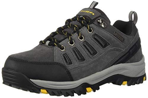 Skechers Men's RELMENT Hiking Boot Grey 8.5 Wide US