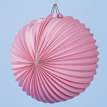 10 Pink Party Paper Lanterns Pack Of 12 Paper Lantern Lamps