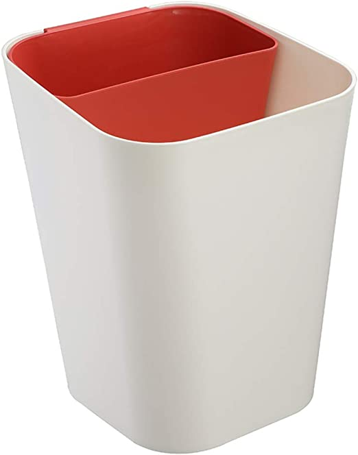 Diy Wet And Dry Separated Double Inner Trash Can Garbage Can Ash Bin Dust Bin Trash Container For Home Office Kitchen Bathroom D M Amazon Ca Home Kitchen