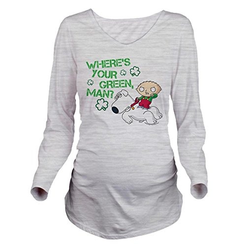 Long Sleeve Shirt Family Guy - CafePress Family Guy Where's Y - Long Sleeve Maternity T-Shirt, Cute and Funny Pregnancy Tee