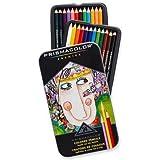 Lápis de Cor Profissional Prismacolor Premier Kit Estojo Metálico 24 cores