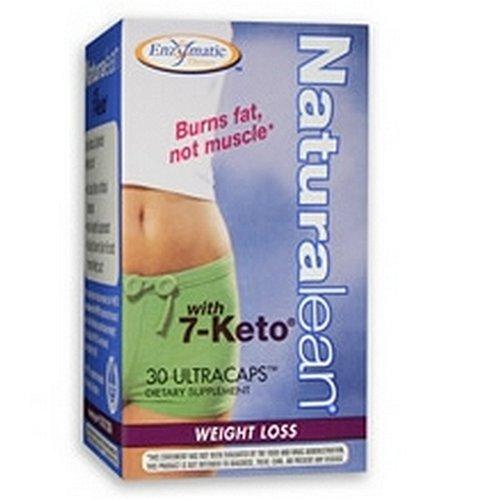 Enzymatic Therapy Naturalean avec 7-Keto, 30 Capsules