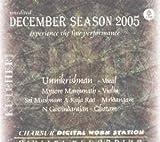 Kutcheri – Unnikrishnan – Vocal (with Mysore Manjunath-Violin, Sri Mushnam V Raja Rao-Mridangam, N Govindarajan-Ghatam) – Live Recording Of A Concert Held In Sri Krishna Gana Sabha on 24 December, 2005 – Experience The Live Performance (3-CD Pack)