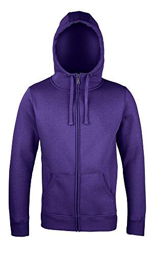 Sonar Roxy zip-thru hoodie Ultra Violet XL (Zip Thru Sweatshirt Hooded)