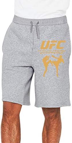 UFC MMA Printed メンズ ショートパンツ トレーニング 短パンツ ハーフパンツ ファッション スポーツ 吸汗速乾