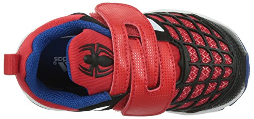 adidas Unisex Baby Disney Spider-Man CF I Lauflernschuhe Rot / Weiß / Schwarz (Rojint / Ftwbla / Negbas)