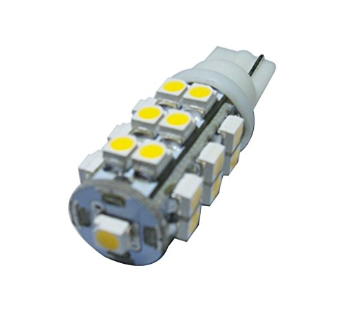 GRV T10 Wedge 921 194 25-3528 SMD LED Bulb lamp Super Bright Warm White DC 12V Pack of (25 Led Lamp)