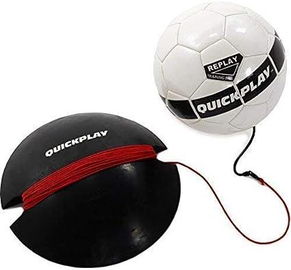 QuickPlay Replay Bola del Fútbol Trainer: Amazon.es: Deportes y ...
