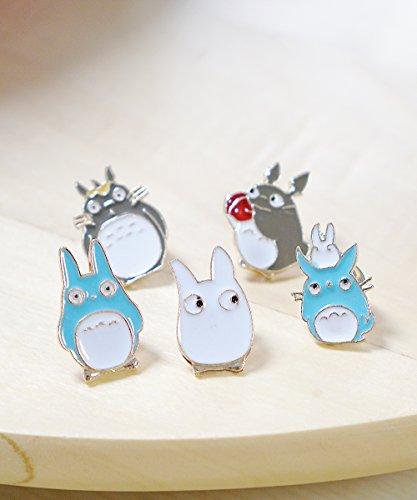 Totoro-Studio-Ghibli-Miyazaki-Enamel-Pin-Set-Cute-Kawaii-Japanese-Anime-Lapel-Pins