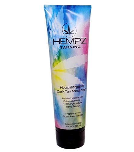 - Hempz HYPOALLERGENIC DARK TAN Maximizer - 9 oz.