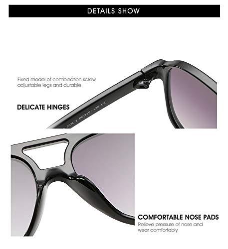 305b14ee56 En Polyvalentes Classique Uv Soleil,lunettes Et Protection Grenouille Lunettes  Rétro Polariseur Femme Miroir Boîte Résine Soleil De ...