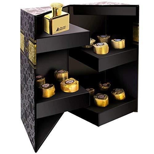 A ASGHARALI Bakhoor Al Maisera - Combination Gift Pack of Incense Bakhoor and Eau De Parfum (12 Pieces + 30ml) by A ASGHARALI