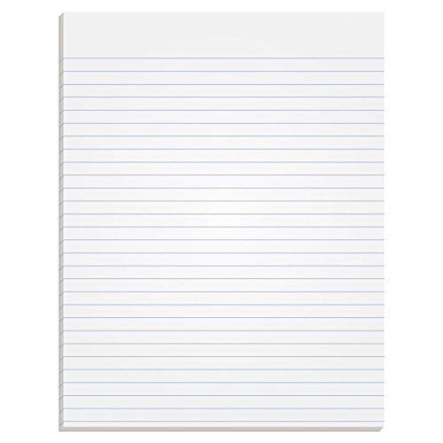 (TOPS The Legal Pad Writing Pads, Glue Top, 8-1/2