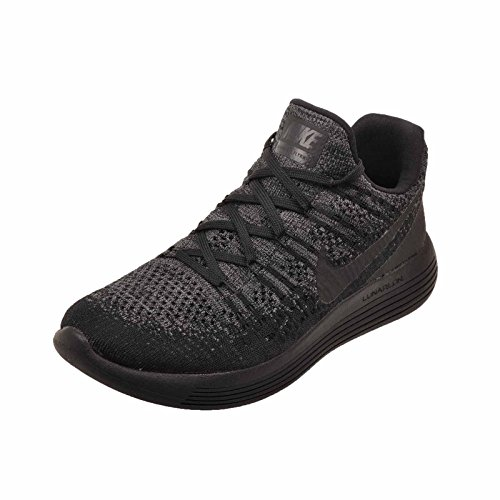 2 de Low Medium Trail Black Flyknit Noir Black Dark Chaussures Racer NIKE Blanc Femme W Lunarepic Anthracite Grey Blue qYwCIIB