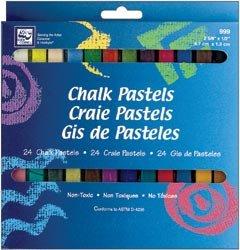 - Loew-Cornell Bulk Buy Chalk Pastels 24 Pack (3-Pack)