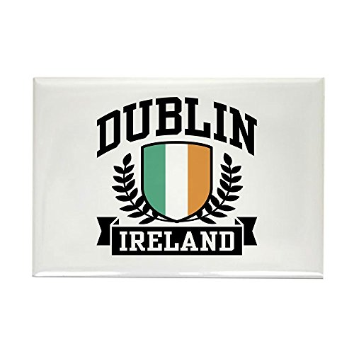 Dublin Ireland Rectangle Magnet by CafePress ()