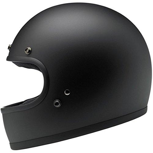 Biltwell Gringo DOT/ECE Helmet - Flat Black - Large (Best Cafe Racer Helmet)