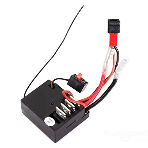 Quickbuying Wltoys A949 A959 A969 A979 K929 1/18 4WD RC Car Receiver/ECS Spare Part A949-56 For Wltoys RC Car Part Replacements Accessories ()