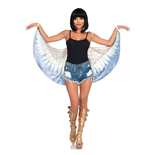 Adult size Egyptian Goddess Wings - Isis Daughter of Geb - Goddess Isis Costume