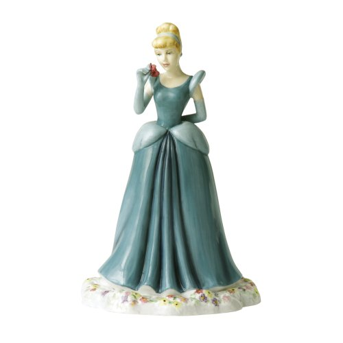 Royal Doulton Cinderella - Is He Thinking Of Me? Disney Showcase