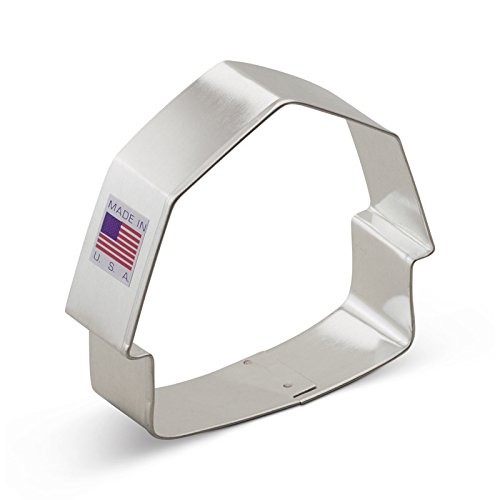 (Ann Clark Barn Cookie Cutter - 3.25 Inches - Tin Plated Steel)