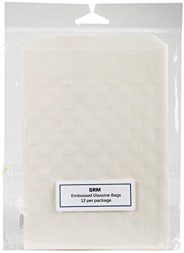 SRM Press 65027 Embossed Glassine Bags 4.75