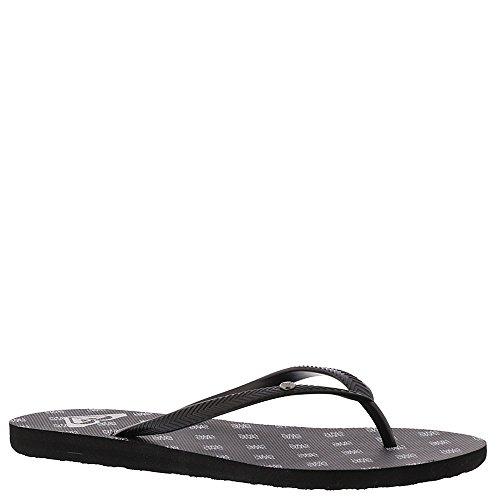 Roxy Womens Wear (Roxy Women's Bermuda II Sandals Flip-Flop, Black, 9 M US)