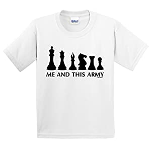 Chess Game Pieces Me and This Army Youth T-Shirt