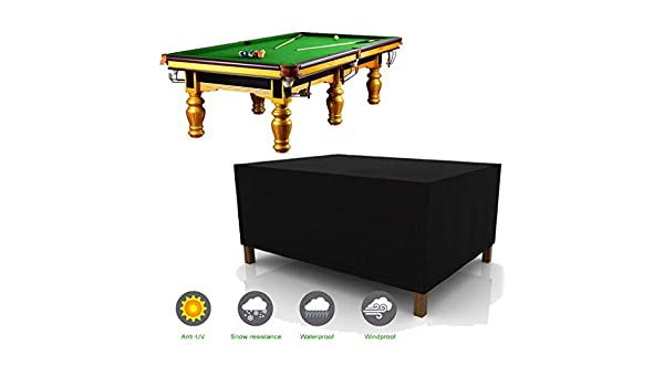 SJMDZZ 7/8/9 Pies Oxford Tela Funda de Mesa de Billar Snooker ...