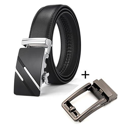 En venta QISHIYUHUA Hombres Cinturón de Cuero Correa Cinturones de Piel  Diseñado para caballero 50832f54d4e0