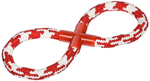 Kole KI-OL390 Woven Figure Eight Dog Rope Toy, One Size