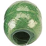 Kunstbast 100 m grün Pflanzenschnur Gartenschnur Pflanzstütze