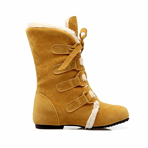 Women's Cotton Student Boots Autumn Boots Women'S and Shoes Cotton RFF Winter Shoes Yards Big Yellow Boots wpRq0w