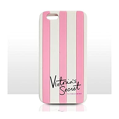 best service 8152e d06ab Victoria's Secret Striped Iphone 5 & Iphone 6 case cover silicone rubber  Apple Iphone case PINK (Iphone 6)