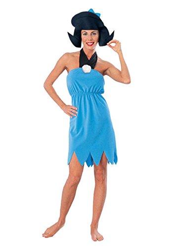 Mememall Fashion The Flintstones Classic Betty Rubble Adult Halloween Costume (Betty Rubble Costume)