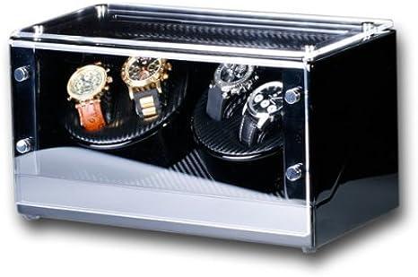 R.U.Braun - Caja para 4 relojes automáticos: Amazon.es: Relojes