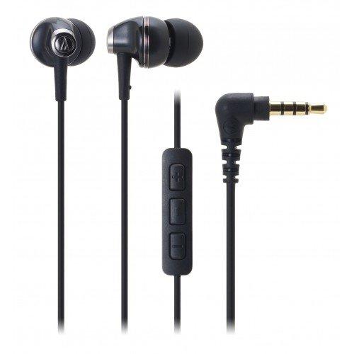 Audio Technica ATH-CK313i BK | Inner-Ear Headphones for iPod iPhone iPad (Japan Import)