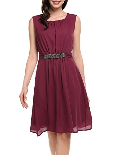 Buy belted evening dress - 7