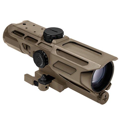NcSTAR NC Star VSTP3940GV3T, Mark III Tactical Compactx 40mm, Gen 3, P4 Sniper, Reticle (Ncstar Mark Iii Tactical P4 Sniper 3 9x42)