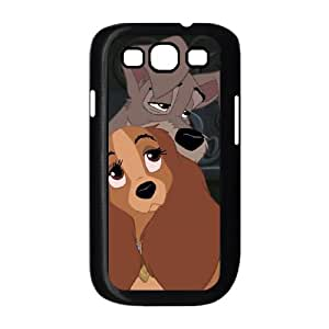 Samsung Galaxy S3 9300 Cell Phone Case Covers Black Lady and the Tramp II Scamp's Adventure Character Annette as a gift E4512515