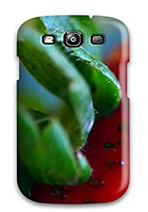 Scratch-free Phone Case For Galaxy S3- Retail Packaging - Strawberry 4276541K22069902