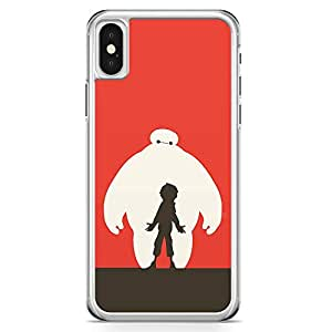 Loud Universe Big Brother Style iPhone X Case Big Borther Character iPhone X Cover with Transparent Edges