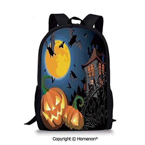 Multi,design Backpack Schoolbag Book Bag Teenagers Daypack(17.3