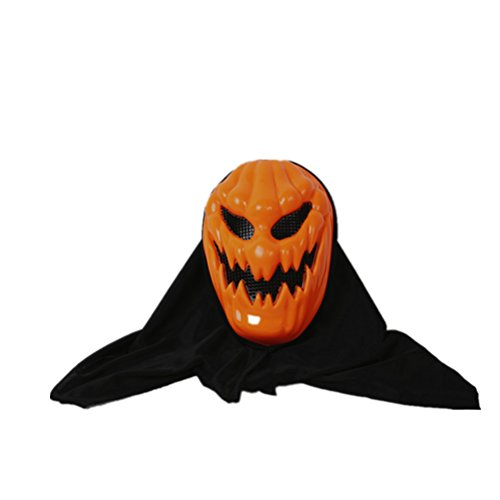 BESTOYARD Halloween Pumpkin Masks Skull Ghost Mask Costume Party Props Masks Scary Evil Creepy Face